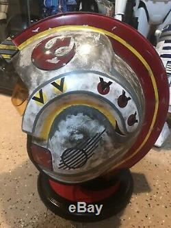 Luke X-Wing Helmet Cosplay Star Wars Custom