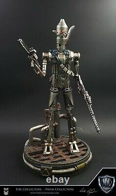 MYC Sculptures Custom IG-88 Star Wars 1/4 Statue Mandalorian Not Sideshow Rare