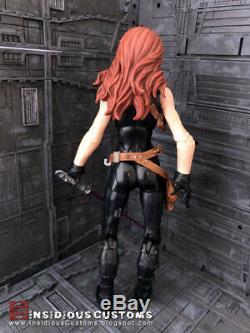 Mara Jade Star Wars The Black Series CUSTOM Action Figure Expanded Universe 6