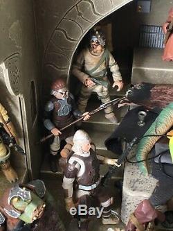 Massive Jabbas Palace Star Wars Custom Diorama 3.75 Scale Plus Custom Figures