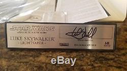 Master Replicas Luke Skywalker Star Wars Elite Edition ANH Custom Hamill Signed