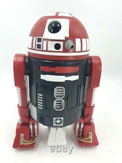 Mint Disney Star Wars Galaxy's Edge Droid Depot Black Red Custom R2 Astromech