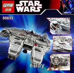 NEW 100% Custom Star Wars Ultimate Collector's Millennium Falcon 5265pcs