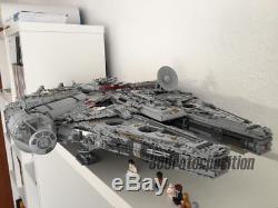 NEW CUSTOM COMPATIBLE LeGo Star Wars UCS Millennium Falcon 75192 8445Pcs Bricks