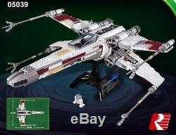 NEW CUSTOM Set Star Wars Red Five X-Wing Starfighter Compatible 10240 (DHL)