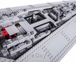 NEW CUSTOM Set Star Wars UCS Super Star Destroyer LEGO Compatible 10221 (DHL)