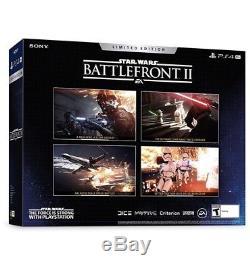 NEW Custom 4TB Star Wars Battlefront 2 Limited Sony PS4 PRO 4 TB PLAYSTATION 4K