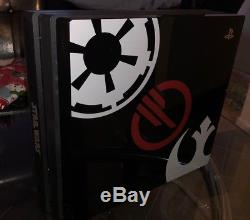 NEW Custom 5TB Star Wars Battlefront 2 Sony PS4 PRO Playstation 4 (No Game/DLC)