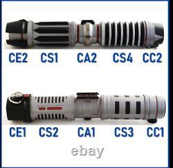 NEW Star Wars Galaxy's Edge Savis Workshop Lightsaber POWER & CONTROL Custom