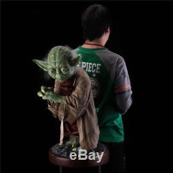 New Custom Star Wars 1/1 Life Size Master Yoda Statue H85CM