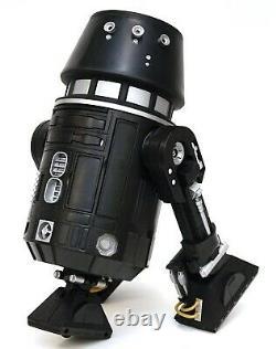 New Disney Star Wars Galaxy's Edge Droid Depot Black 2 Custom R2 Astromech