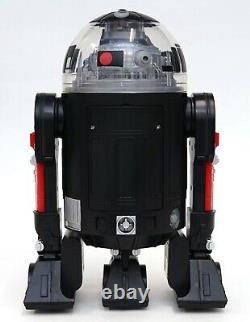 New Disney Star Wars Galaxy's Edge Droid Depot Black Red Custom R2 Astromech