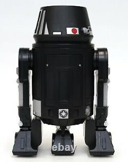 New Disney Star Wars Galaxy's Edge Droid Depot Black Silver Custom R2 Astromech
