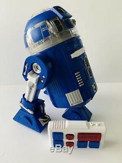 New Disney Star Wars Galaxy's Edge Droid Depot Blue Custom R Series Astromech