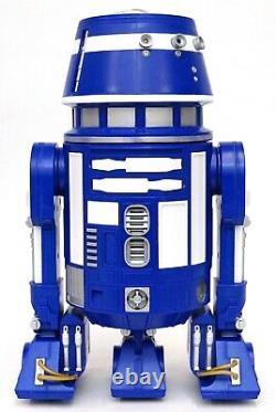 New Disney Star Wars Galaxy's Edge Droid Depot Blue White 2 Custom R2 Astromech