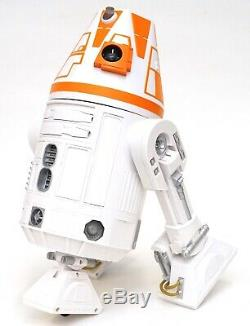 New Disney Star Wars Galaxy's Edge Droid Depot Orange White Custom R2 Astromech