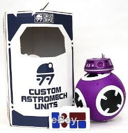 New Disney Star Wars Galaxy's Edge Droid Depot Purple Custom BB Astromech