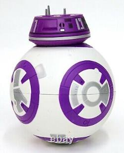 New Disney Star Wars Galaxy's Edge Droid Depot Purple White Custom BB Astromech