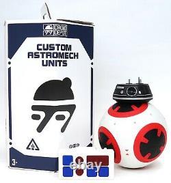 New Disney Star Wars Galaxy's Edge Droid Depot Red Black 2 Custom BB Astromech