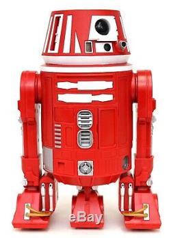 New Disney Star Wars Galaxy's Edge Droid Depot Red Custom R2 Astromech