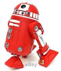 New Disney Star Wars Galaxy's Edge Droid Depot Red Silver Custom R2 Astromech