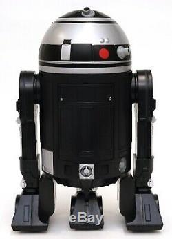 New Disney Star Wars Galaxy's Edge Droid Depot Silver Black Custom R2 Astromech