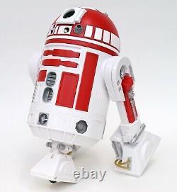 New Disney Star Wars Galaxy's Edge Droid Depot White Red 4 Custom R2 Astromech