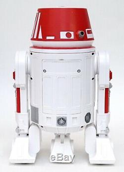 New Disney Star Wars Galaxy's Edge Droid Depot White Red Custom R2 Astromech