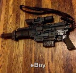 New /Nerf Star Wars Rouge One Jyn Erso Semi-Auto Blaster Gun prop custom