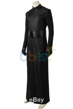 New Star Wars 7 The Force Awakens Kylo Ren Cosplay Costume Custom Made