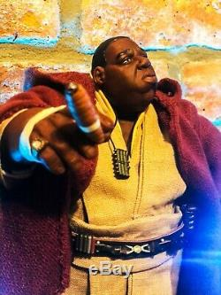 Notorious J E D I Custom Star Wars Biggie Smalls Obi Wan Jedi Mezco 9 figure