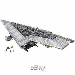 ORIGINAL Star Wars 3208pc SUPER STAR DESTROYER 10221 US/EU 7d ship Custom Set