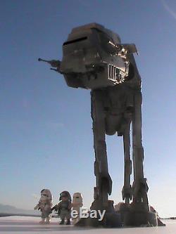 Playmobil Custom Star Wars V At At + Piloto+comandante+3 Soldados Imperio Ref-1