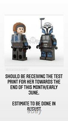 Phoenix customs minifigure Galactic Heiress Lego Star Wars (READ)