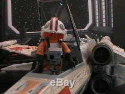 Playmobil Custom Star Wars IV Luke Sky Walker + X-win Ref-003
