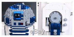 R2-D2 UCS Custom building blocks Replica Lego Star Wars 10225 DHL Delivery