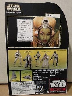 RARE CUSTOM STAR WARS 1st AUTOGRAPHED figure FEMI TAYLOR JABBA DANCER OOLA