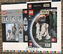 RARE LEGO Star Wars 8009 R2-D2 Prototype Proof Sheet Custom Framed HTF