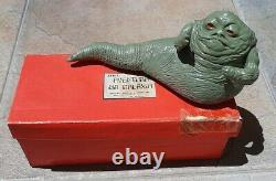 Rare custom Brazil lead vintage model trem bootleg star wars Jabba complete