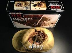 SARLACC PIT Star Wars Legacy Collection creature ONLY + custom KENNER style box