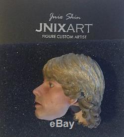 STAR WARS 1/6 scale JNIX CUSTOM SCULPT for Hot Toys etc RARE UK