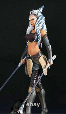 STAR WARS Ahsoka Tano Jedi Knight Custom Statue 1/4 NEU & OVP