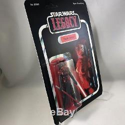 STAR WARS DARTH TALON Figure from LEGACY Custom Vintage Cardback