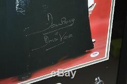 STAR WARS DAVID PROWSE DARTH VADER SIGNED FRAMED 16X20 PHOTO CUSTOM WithSUEDE PSA