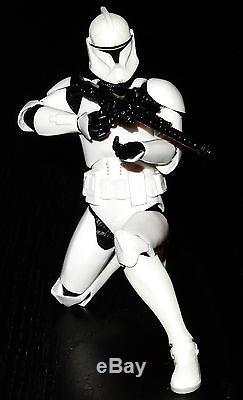 Star Wars Statue Black Gentle Giant Artfx+ Series Custom Clone Trooper Two Pack