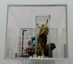 STAR WARS Vintage ROTJ Loose Max Rebo Band Custom Case 1983 AFA UKG 80%