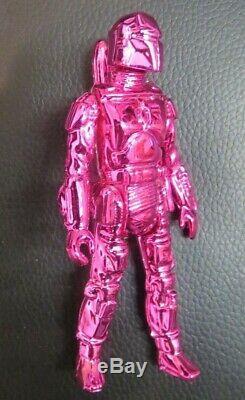 SUCKADELIC SUCKLORD Pink Boba Fett CUSTOM toy figure star wars BOOTLEG NY RARE