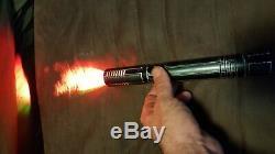 Saberforge lightsaber, not Ultrasaber, star wars, custom saber