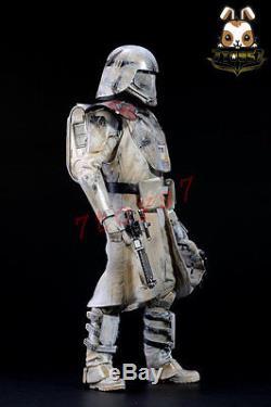 Sam Kwok 1/6 Custom Painting Hot Toys Star Wars First Order Snowtrooper DSN009E