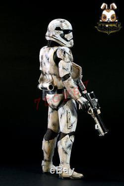 Sam Kwok 1/6 Custom Painting Hot Toys Star Wars First Order Stormtrooper DSN009F